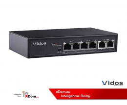 Vidos wideodomofon IP PS42/60 SWITCH POE 4 PORTOWY